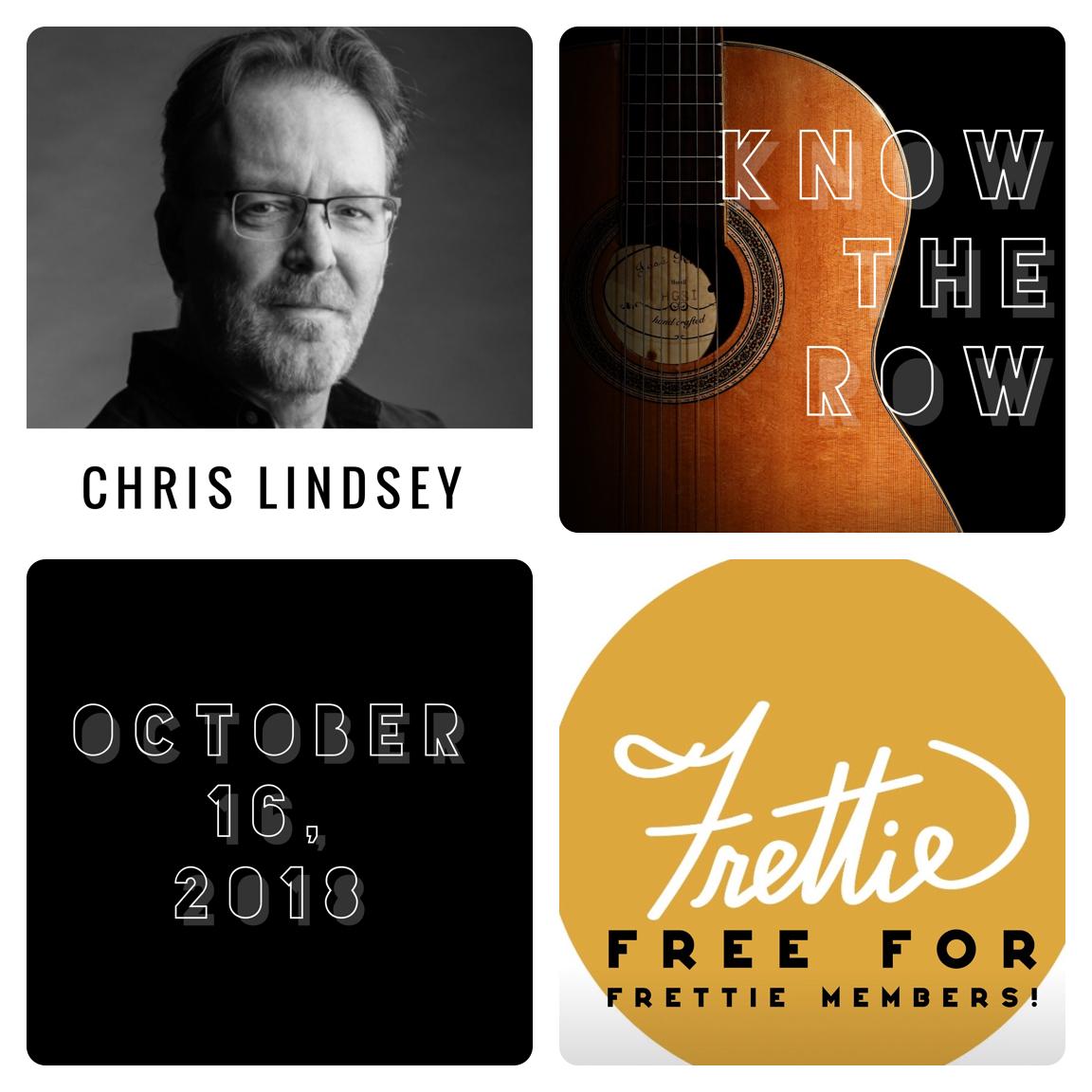Chris Lindsey poster