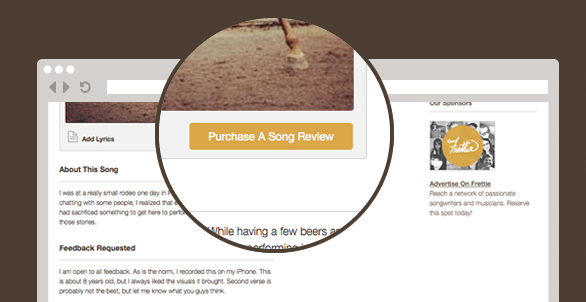 get your song reviewed